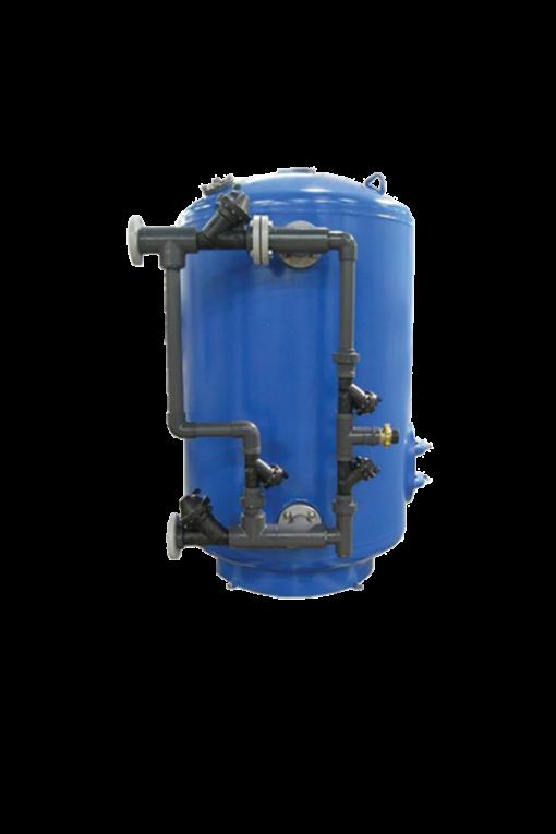 "ECI Plastic Valve Nest Epoxy Lined Steel Filters - 18"" thru 48"""